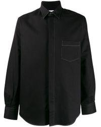 メンズ Cobra S.C. チェストポケット シャツ Black