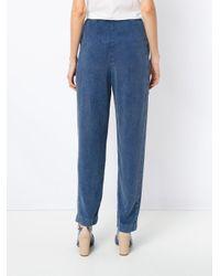 Mara Mac Blue Clochard Denim Trousers