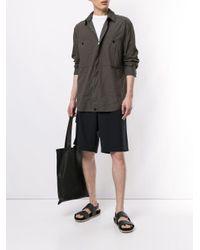 メンズ Transit ロングスリーブ シャツ Multicolor