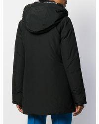 Woolrich フーデッド パデッドジャケット Black