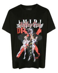 メンズ Amiri X Mötley Crüe Tシャツ Black
