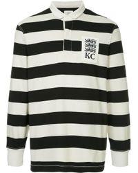 Kent & Curwen Poloshirt mit Streifen in White für Herren