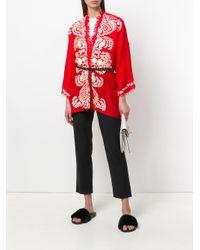 Coprispalle modello kimono di P.A.R.O.S.H. in Red