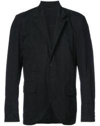 Isabel Benenato Black Single Breasted Blazer for men