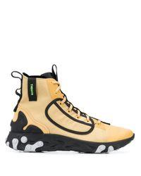 Nike Multicolor React Ianga Hi-top Sneakers for men