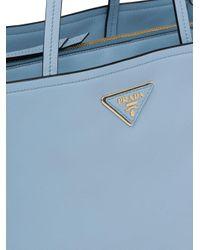 Prada ロゴ ハンドバッグ Blue