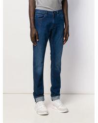 Calvin Klein Ausgeblichene Skinny-Jeans in Blue für Herren