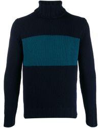 メンズ Lardini タートルネック セーター Blue