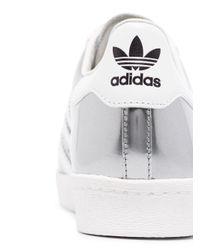 Кроссовки Superstar Из Коллаборации С Prada Adidas, цвет: Gray