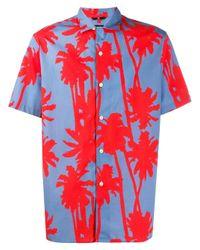 T-shirt David J.Lindeberg pour homme en coloris Red