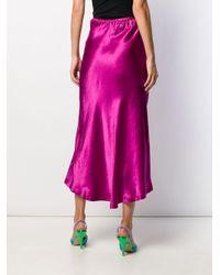 Sies Marjan ハイウエスト ドレープ スカート Multicolor