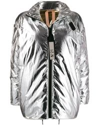 N°21 Metallic Reversible Padded Jacket