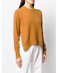 Pull Chinn à fentes latérales Isabel Marant en coloris Brown