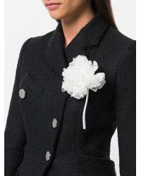 Ann Demeulemeester - White Carnation Brooch - Lyst