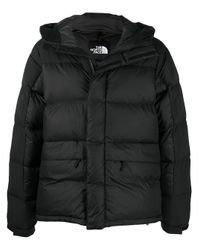 The North Face Black Logo-print Puffer Jacket