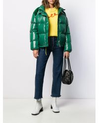 Moncler Green 'Chouette' Jacke