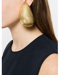 Monies Metallic Oversized Claw Clip-on Earrings