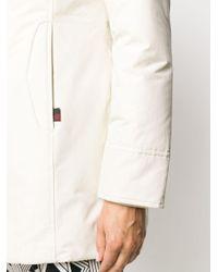 Woolrich ジップアップ フーデッドコート Multicolor