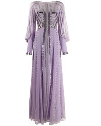 Temperley London ロングドレス Purple