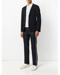 Lanvin Black Single Breasted Blazer for men