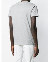 PS by Paul Smith Gray Printed T-shirt for men
