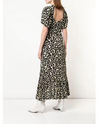 Фактурное Присборенное Платье В Горох Proenza Schouler, цвет: Black