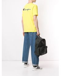 Camiseta con logo Champion de hombre de color Yellow