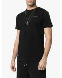 Off-White c/o Virgil Abloh T-shirt Met Logoprint in het Black voor heren