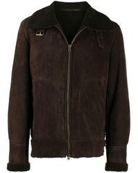 メンズ Salvatore Santoro スプレッドカラー ジャケット Black