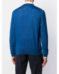 Paul Smith Klassischer Pullover in Blue für Herren