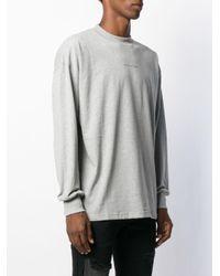 メンズ 1017 ALYX 9SM ロゴ Tシャツ Gray