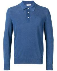 メンズ Boglioli ポロシャツ Blue