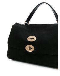 Zanellato - Black Small Stud Detail Tote Bag - Lyst