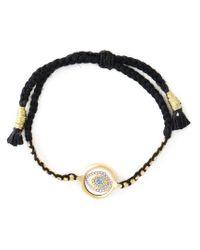 Ileana Makri - Black Happy Eye Bracelet - Lyst
