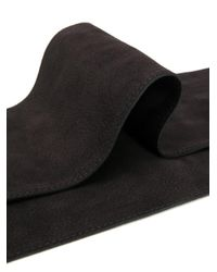 Orciani Tie Waist Belt Black