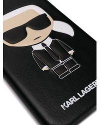 Karl Lagerfeld Ikonik Karl Iphone X ケース Black