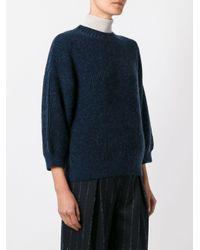 3.1 Phillip Lim パフスリーブ セーター Blue