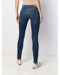 Jeans skinny di Polo Ralph Lauren in Blue