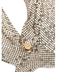 Paco Rabanne Chainmail スカーフ Multicolor