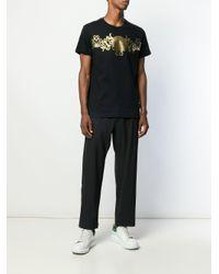 Versace Jeans T-Shirt mit Print in Black für Herren
