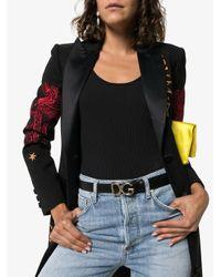 Dolce & Gabbana ロゴバックル ベルト Black