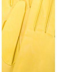Manokhi ロング グローブ Yellow