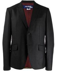 Blazer à design patchwork Junya Watanabe pour homme en coloris Black