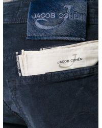 Jacob Cohen | Blue Regular Corduroy Trousers for Men | Lyst