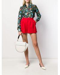 Styland Red Shorts mit hohem Bund
