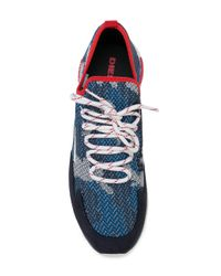 DIESEL - Blue S-kby Sneakers for Men - Lyst