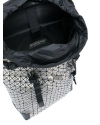 Bao Bao Issey Miyake Metallic Geometric Hiker Backpackk for men