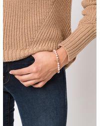 Nektar De Stagni - Metallic Pearl Bracelet - Lyst