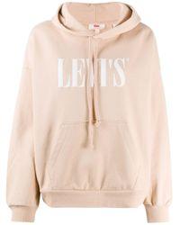 Худи С Длинными Рукавами И Логотипом Levi's, цвет: Multicolor