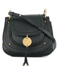 e268e44519 Lyst - See By Chloé Foldover Top Crossbody Bag in Black